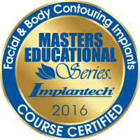 Masters Educational Series, Implantech 2016, Facial & Body Contouring Implants Course Certified Plastic Surgeon